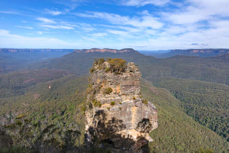 Lookout on the Blue Mountains, Australia.