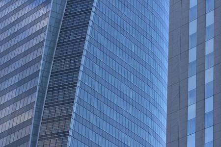 Detail of buildings in Paris.