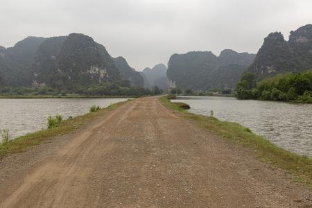 Countryside In Ninh Binh Province, Vietnam