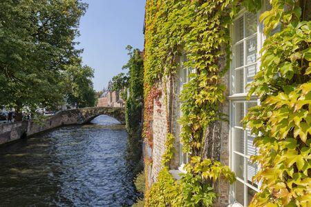 Cityscape In Bruges, Belgium