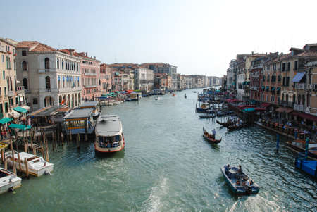 grand canal: Grand Canal in Venice