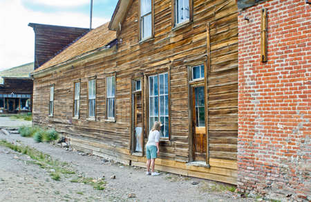 Bodie, California ghost town hotel