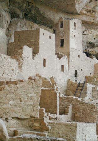 Cliff Palace - Pueblo Indian cliff dwellings, Mesa Verde, Colorado  photo