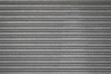 Een grijze metalen gesloten sluiter