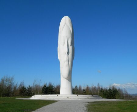 the Dream sculpture in St Helens Merseyside UK.