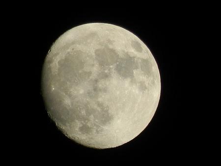 Waxing Moon in Cheshire