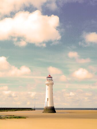 One Summer at Perch Rock                               Stock Photo