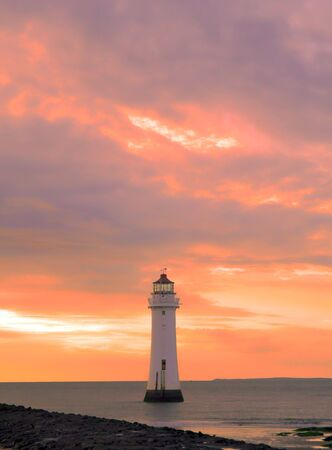 Red Sky at Perch Rock