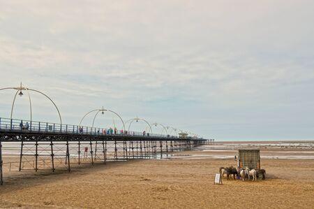 Southport Pier Scene photo