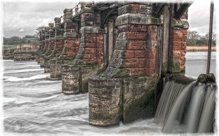 River Weaver Sluice