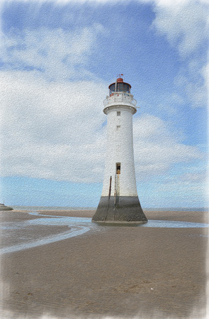 Perch Rock Painted 4