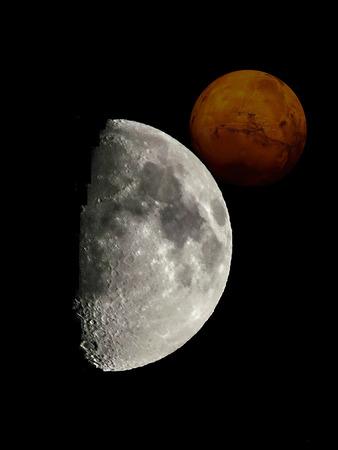 Deep Space Stock Photo