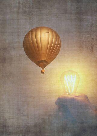 A Light Light Stock Photo