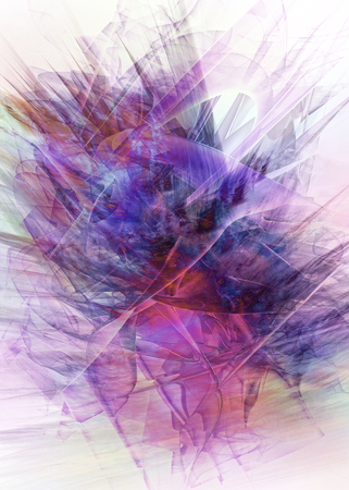 Digital Floral Abstract