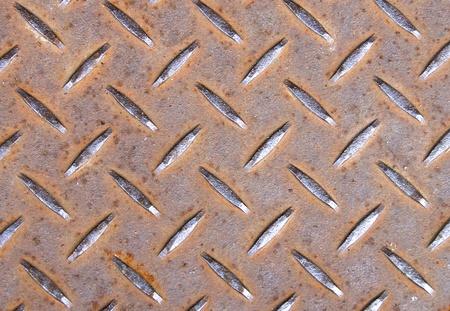 stainless steel sheet: The texture of Iron floor Stock Photo