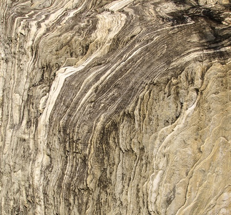 black onyx: The closeup of a rock with natural stripe pattern