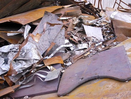 ironworks: The close view of debris at ironworks