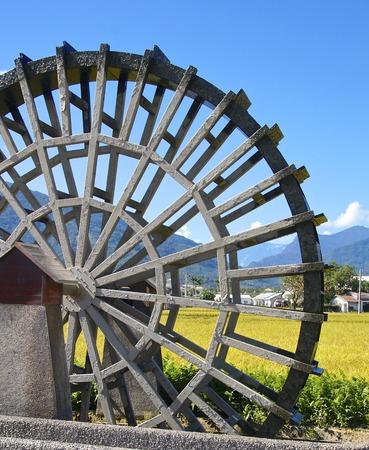 water turbine: The close view of water turbine in eastern Taiwan