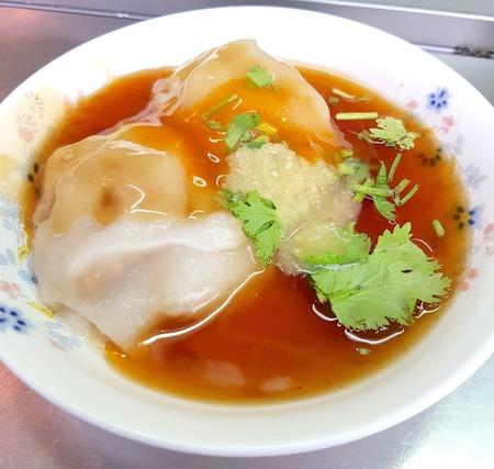 Taiwanese meatball closeup