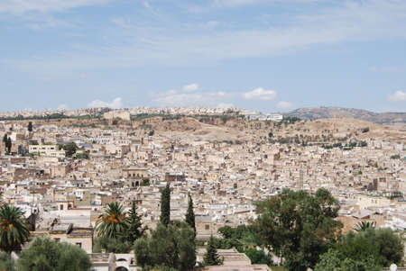 the humanities landscape: General View of Fez