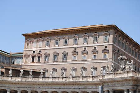 Papal dependencies in Vatican  Rome 報道画像