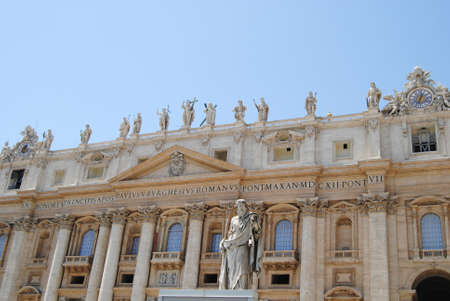 Main facade of St  Peter s Vatican City