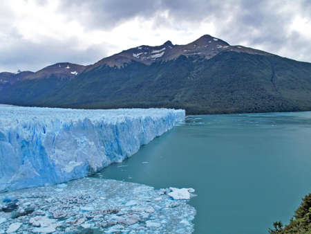 View of the Perito Moreno Argentina photo