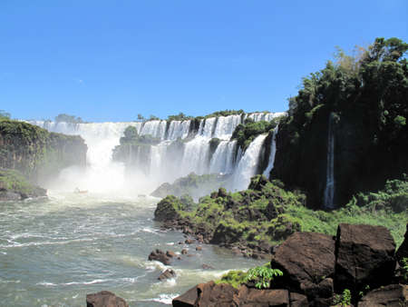 Overview of the Iguazu Falls photo