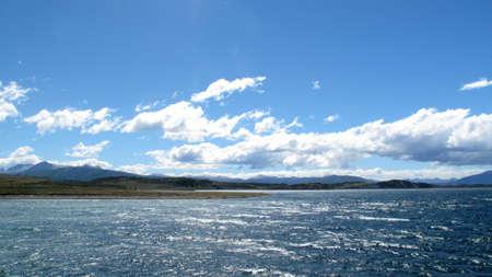 tierra: View of the coast of Tierra del Fuego Stock Photo