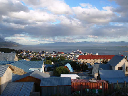 fuego: View of Ushuaia Tierra del Fuego