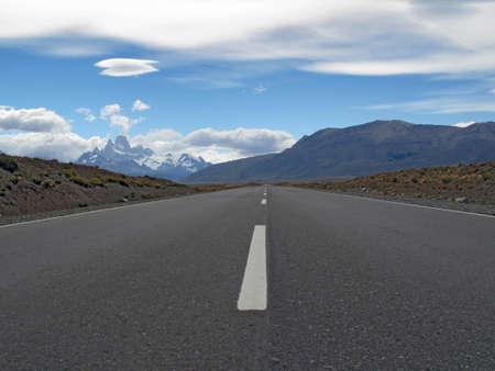 chalten: Highway of Chalten Argentina