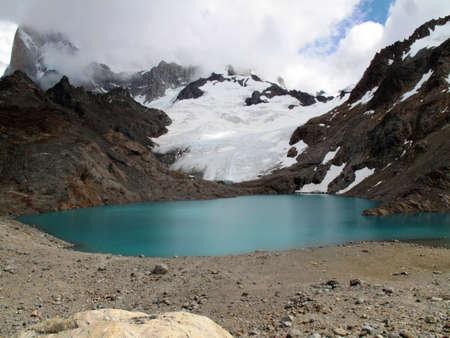 chalten: Pond of Chalten Argentina