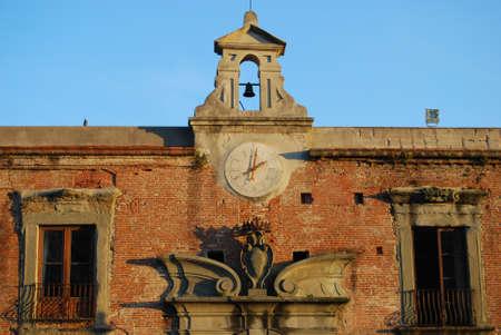 baranda para balcon: Plaza del Reloj Miracoli de Pisa Foto de archivo