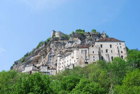 midi: Overview of Rocamadour France