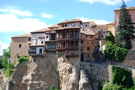 cuenca: Hanging houses of Cuenca Spain