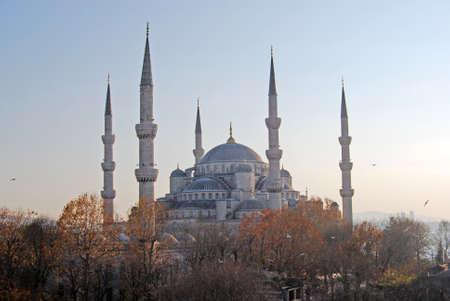 edificación: Estambul Mezquita Azul Foto de archivo