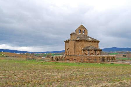 santa maria: Santa Maria de Eunate Church  Navarre