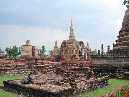 Temples of Ayutthaya  Thailand                         photo