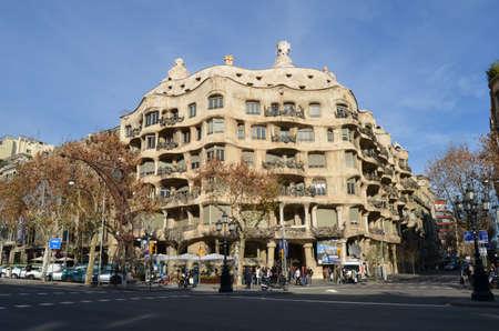 paseo: Casa Mila  La Pedrera  Barcelona