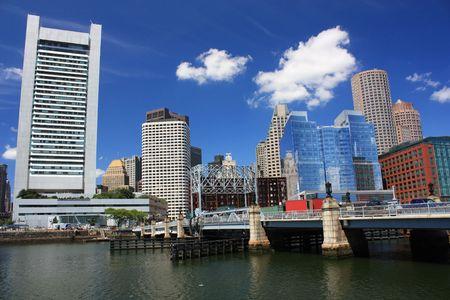 busines: Boston Skyline Busines District