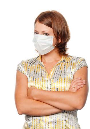 surety: Girl in a medical mask