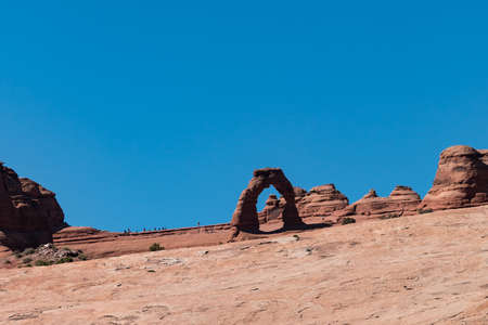 Trail to Delicate Arch in Arches National Park