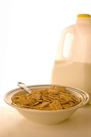 A good mornings breakfast on a white background Zdjęcie Seryjne - 2600591