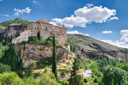 Monastery of San Pablo from the 16th century, currently a national parador de turismo in Cuenca