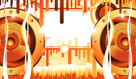 Abstract speakers equalizer music background Stock Photo - 4774428