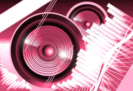Big speaker equalizer sound background photo