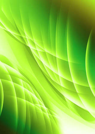 futuristic nature: Abstract colorful mix of curves background