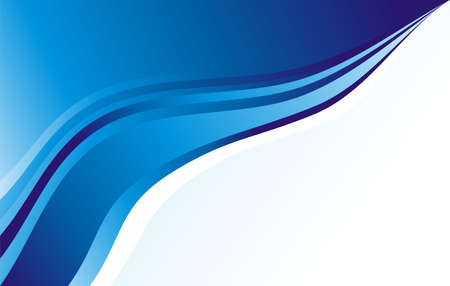 depliant: Blue Waves business card background