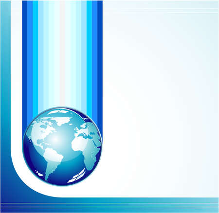 Concept Business Global Company background  brochure