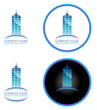 Real Estate and Construction Business Background with design elements Stock Vector - 4895965